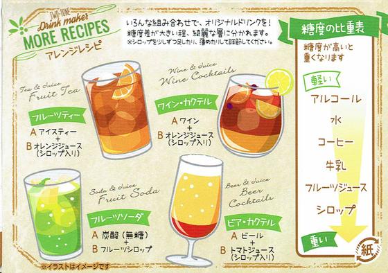 アレンジレシピ